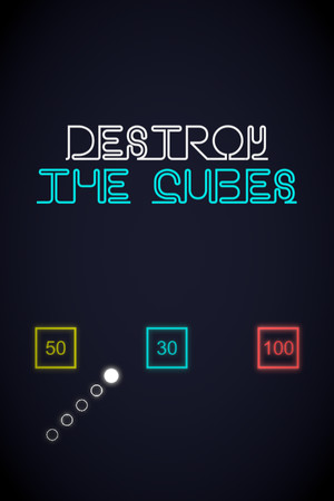 Destroy The Cubes poster image on Steam Backlog