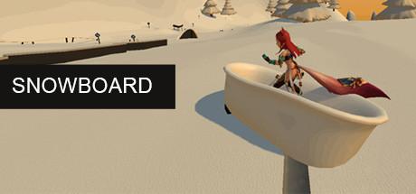 Snowboard cover art