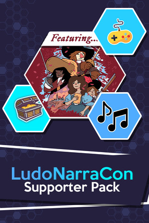 LudoNarraCon Supporter Pack featuring Cyrano poster image on Steam Backlog