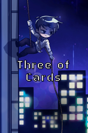 Three of Cards poster image on Steam Backlog