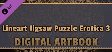 LineArt Jigsaw Puzzle - Erotica 3 ArtBook cover art