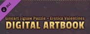 LineArt Jigsaw Puzzle - Erotica Valentines ArtBook