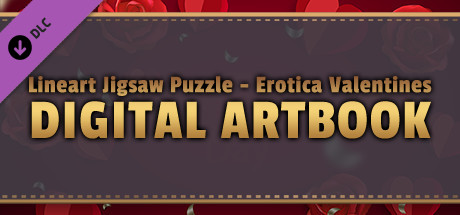 LineArt Jigsaw Puzzle - Erotica Valentines ArtBook cover art