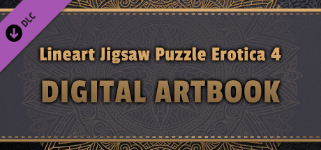 LineArt Jigsaw Puzzle - Erotica 4 ArtBook cover art