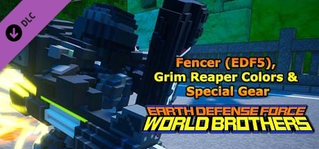 Купить EARTH DEFENSE FORCE: WORLD BROTHERS - Fencer (EDF5), Grim Reaper Colors & Special Gear (DLC)