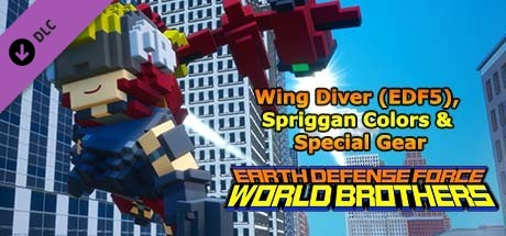 Купить EARTH DEFENSE FORCE: WORLD BROTHERS - Wing Diver (EDF5), Spriggan Colors & Special Gear (DLC)