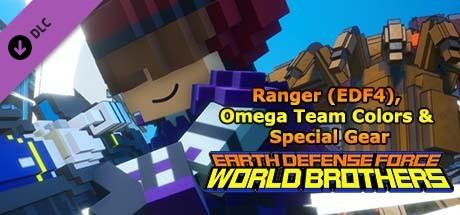 Купить EARTH DEFENSE FORCE: WORLD BROTHERS - Ranger (EDF4), Omega Team Colors & Special Gear (DLC)