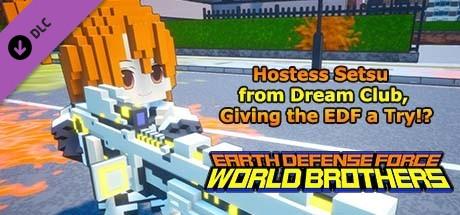 Купить EARTH DEFENSE FORCE: WORLD BROTHERS - Hostess Setsu from Dream Club, Giving the EDF a Try!? (DLC)