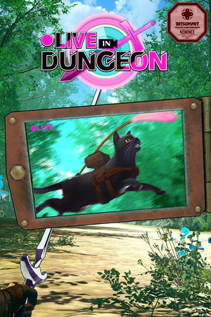 ●LIVE IN DUNGEON poster image on Steam Backlog