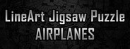 LineArt Jigsaw Puzzle - Airplanes