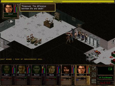Скриншот из Jagged Alliance 2 Gold: Unfinished Business
