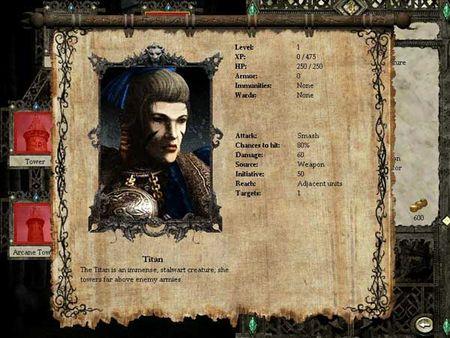Скриншот из Disciples II: Rise of the Elves
