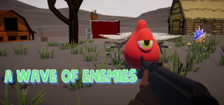 A wave of enemies cover art