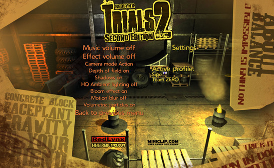 Screenshot of Trials 2: Second Edition