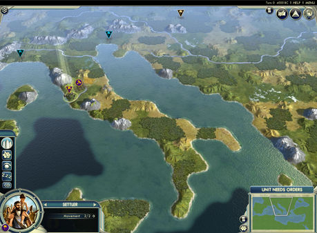 Civilization V - Cradle of Civilization Map Pack: Mediterranean (DLC)
