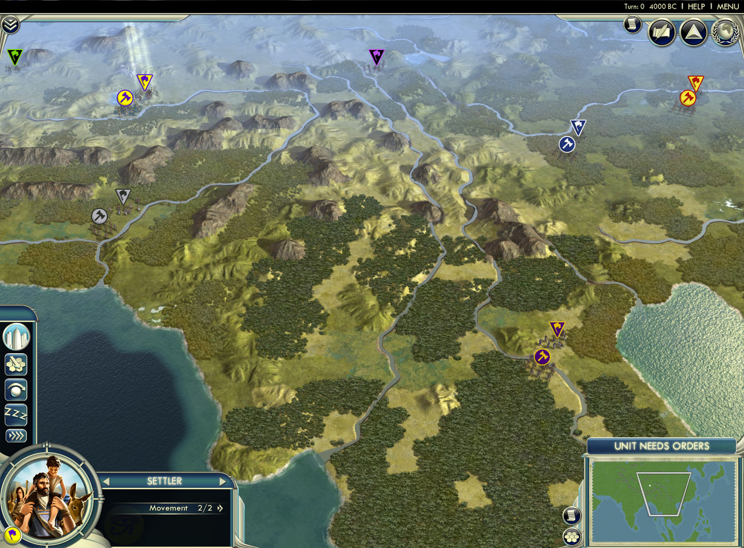 Civilization V Cradle Of Civilization Map Pack Asia On Steam