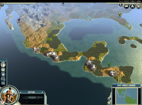 Civilization V - Cradle of Civilization Map Pack: Americas (DLC)