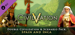 Double Civ and Scenario Pack - Spain, Isabella and Inca, Pachacuti cover art