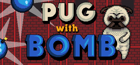 Pug With Bomb cover art