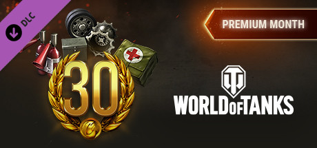 World of Tanks - Premium Month Pack