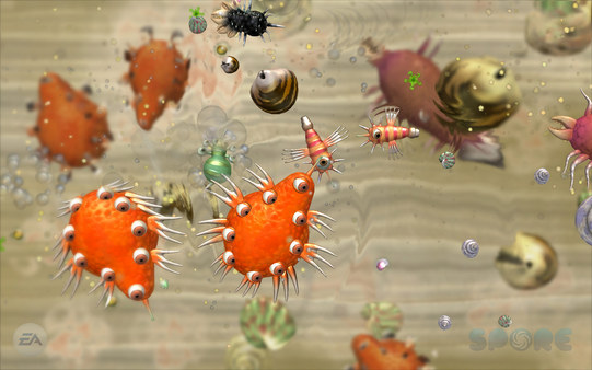 Скриншот из Spore