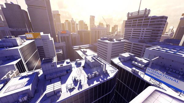 скриншот Mirror's Edge 4