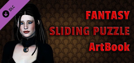 Fantasy Sliding Puzzle - ArtBook cover art