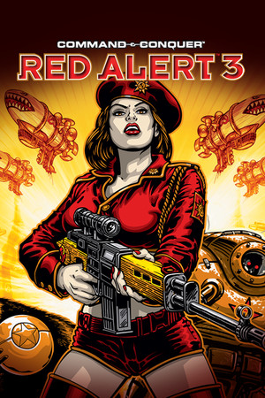 Command & Conquer: Red Alert 3 poster image on Steam Backlog