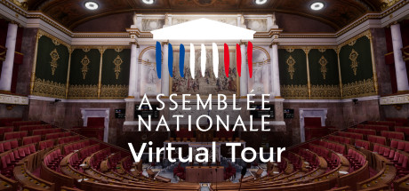 Visite virtuelle de l'Assemblée nationale