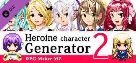 RPG Maker MZ - Heroine Character Generator 2 for MZ