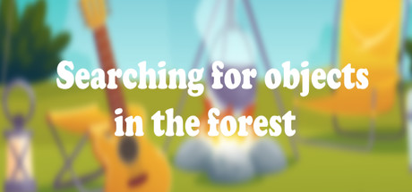 Searching for objects in the forest cover art