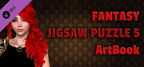 Fantasy Jigsaw Puzzle 5 - ArtBook cover art