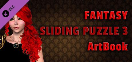 Fantasy Sliding Puzzle 3 - ArtBook cover art