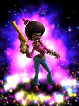 скриншот The Baconing DLC - Roesha  One Bad Mutha Co-op Character 0