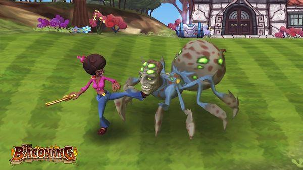 скриншот The Baconing DLC - Roesha  One Bad Mutha Co-op Character 2