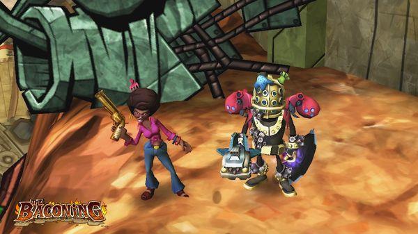 скриншот The Baconing DLC - Roesha  One Bad Mutha Co-op Character 1