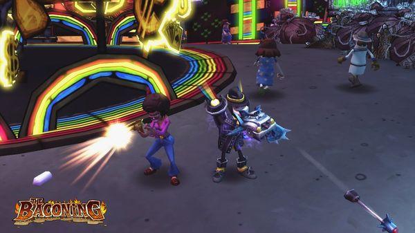 скриншот The Baconing DLC - Roesha  One Bad Mutha Co-op Character 3