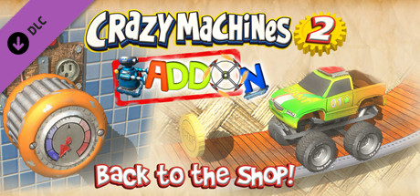 Купить Crazy Machines 2: Back to the Shop Add-On (DLC)