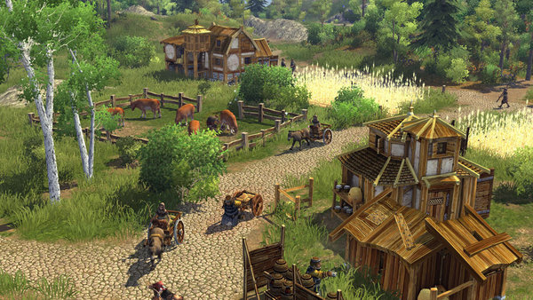 скриншот The Settlers: Rise Of An Empire Gold Edition 5