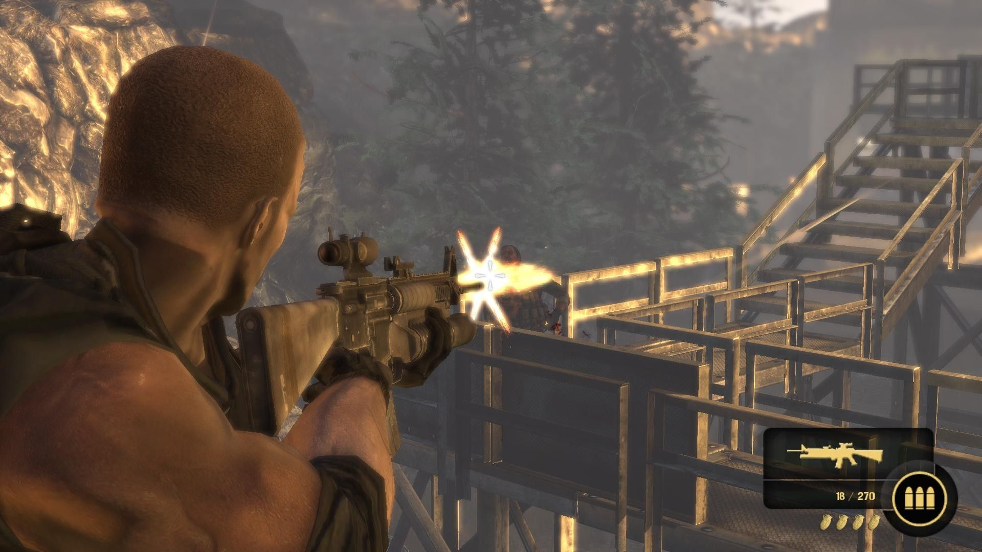 third person shooter video game - HD1920×1080