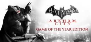 Batman: Arkham City GOTY cover art