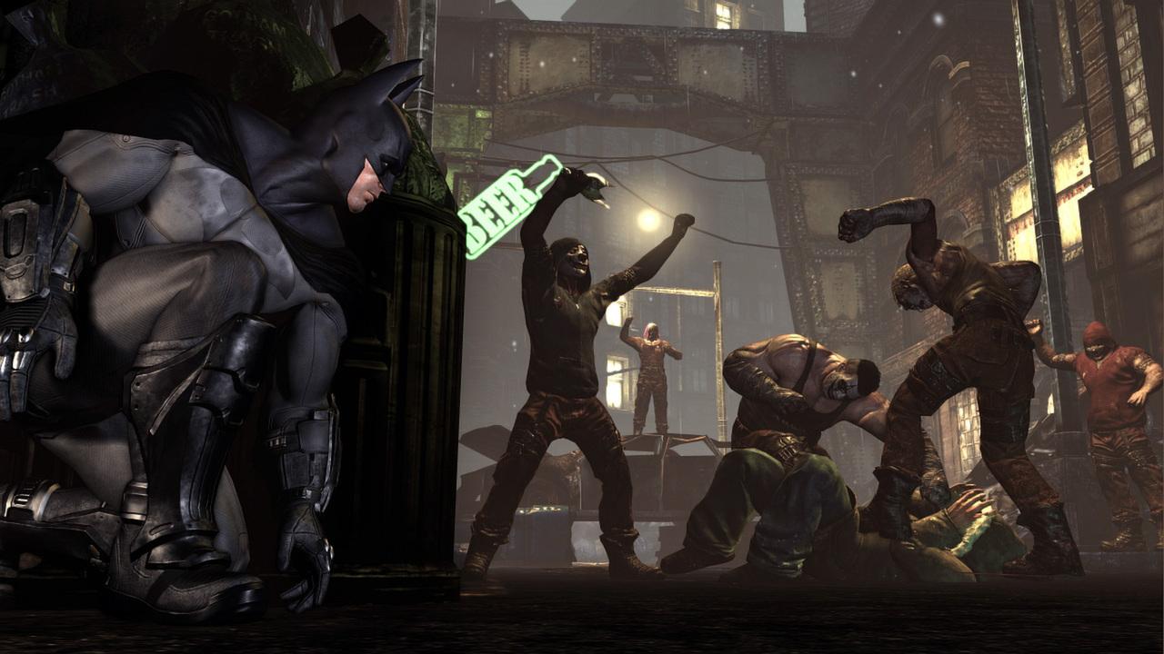 Batman Arkham City Game Of The Year Edition On Steam Return To Asylum Reg 3 Ps4