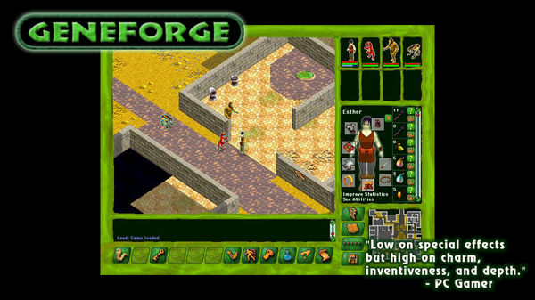 Скриншот из Geneforge 1
