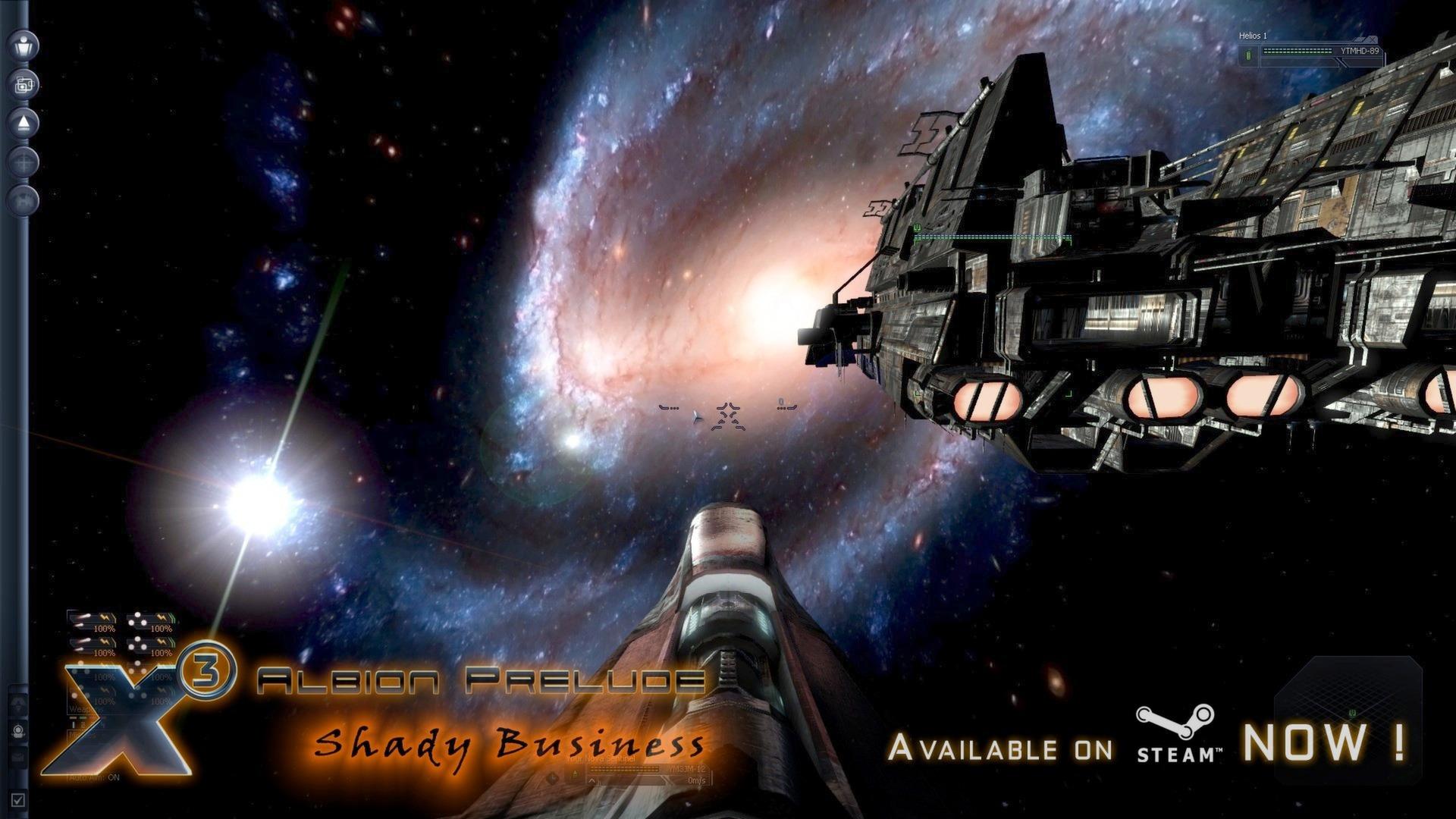 X3: Albion Prelude Screenshot 1