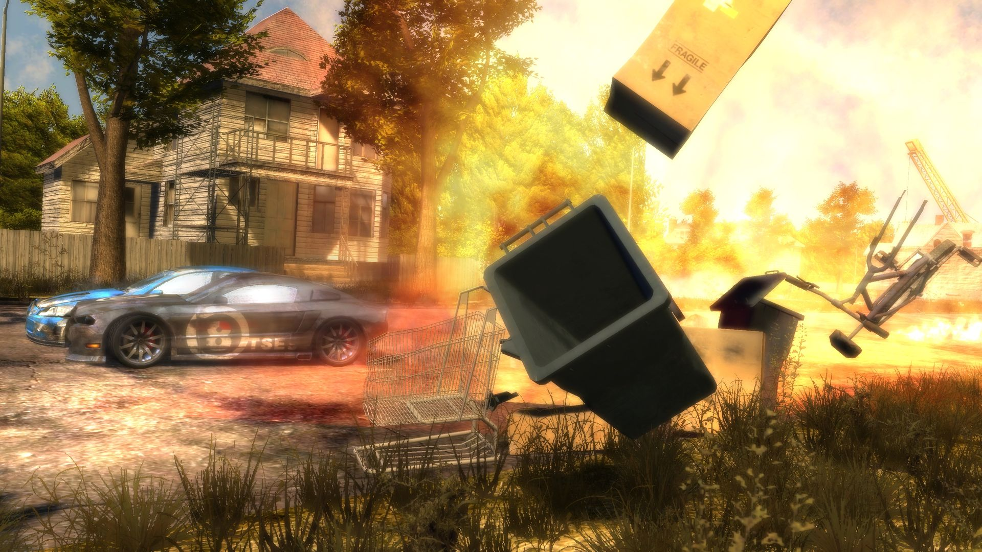 Flatout 3: Chaos & Destruction Screenshot 1