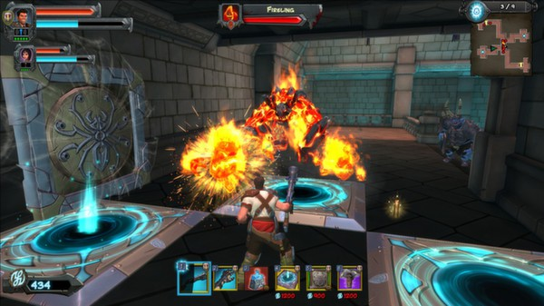 скриншот Orcs Must Die! 2 - Fire and Water Booster Pack 2