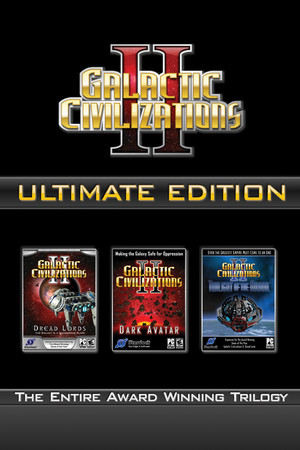 Galactic Civilizations II: Ultimate Edition poster image on Steam Backlog
