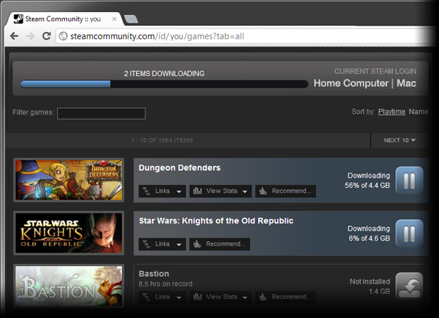 News - Steam Remote Downloads Now Available Online