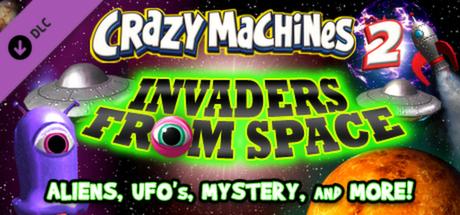 Купить Crazy Machines 2 - Invaders from Space (DLC)