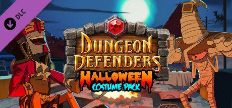Dungeon Defenders: Halloween Costume Pack 2011 pc game Img-1